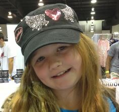 Ladies Heart Bling Shredderbuilt Hat