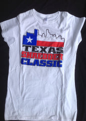 Texas Shredder Classic Texas Flag Skyline T-Shirt