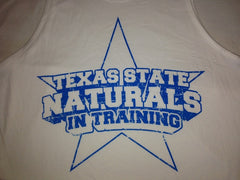 "Men's Texas State Natural Championship ""In Training"" Tank"