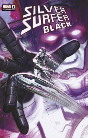 Silver Surfer Black #1 Ryan Brown Exclusive Cover A Trade Dress