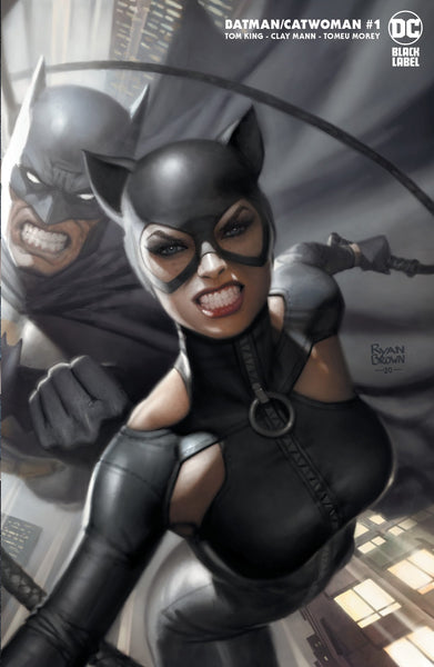 Batman Catwoman #1 Ryan Brown Exclusives 12/12
