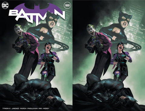 BATMAN #100 MERCADO EXCLUSIVES (JOKER WAR)