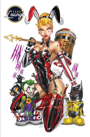 Faro's Lounge #1 Easter Edition Harley Cosplay Exclusive by Jamie Tyndall