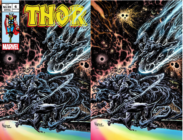 THOR #6 KYLE HOTZ HOMAGE EXCLUSIVES