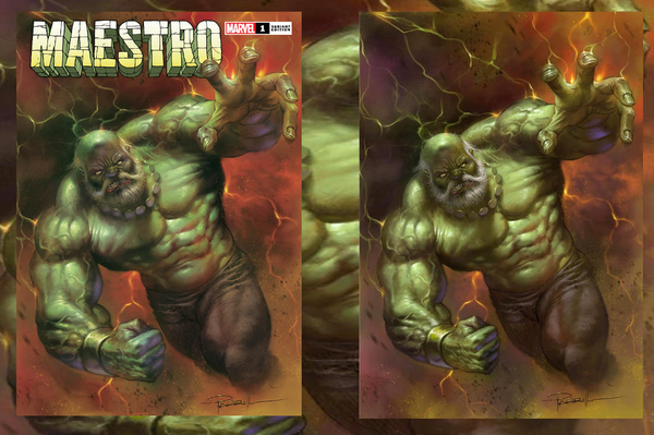 MAESTRO #1 (OF 5) LUCIO PARRILLO EXCLUSIVES