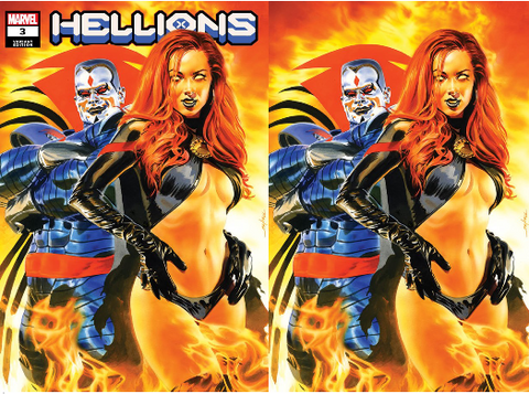 HELLIONS #3 MIKE MAYHEW EXCLUSIVES