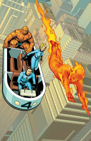 Fantastic Four #1 Sprouce Virgin Exclusive Variant