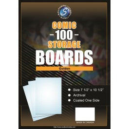 Golden Age Comic Book Boards 100 Pack