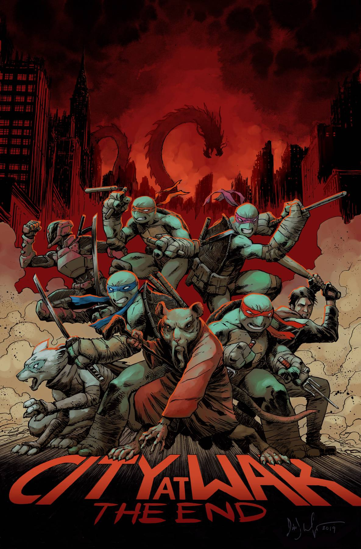 TMNT ONGOING #100 DEATH OF MAJOR CHARACTER