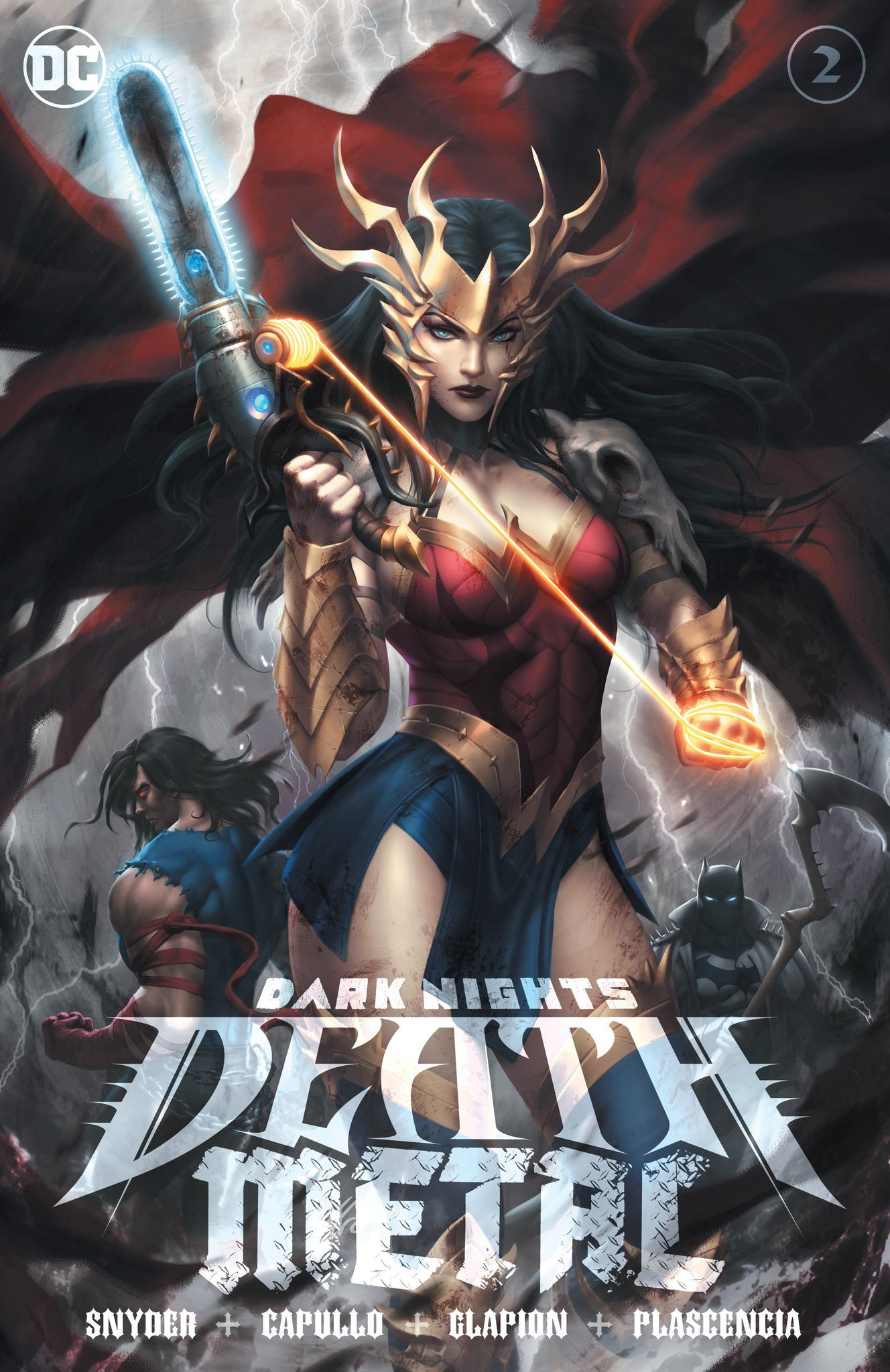 DARK NIGHTS DEATH METAL #2 KUNKKA EXCLUSIVE TRADE PRESALE 7/15
