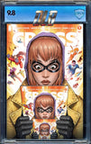 "CROSSOVER #1 DAVID NAKAYAMA OUTER LIMITS BORO ""INFINITY"" EXCLUSIVE LMTD 400"