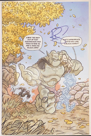 Ogre #1 Exclusive LMTD to 100 Signed by Jay Fosgitt w/COA