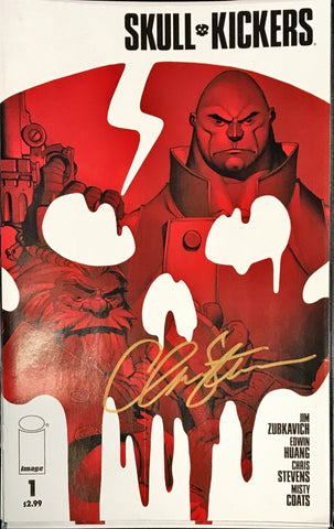 SKULLKICKERS #1 1ST PRINT SIGNED BY CHRIS STEVENS