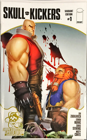 SKULLKICKERS #1 1ST PRINT SIGNED BY CHRIS STEVENS LIMITED VARIANT