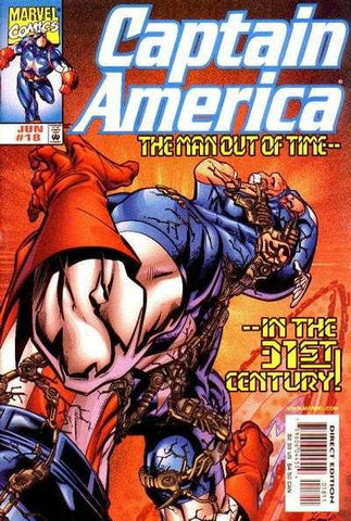 CAPTAIN AMERICA #18 JUNE 1999 FIRST APPEARANCE PRIMAX