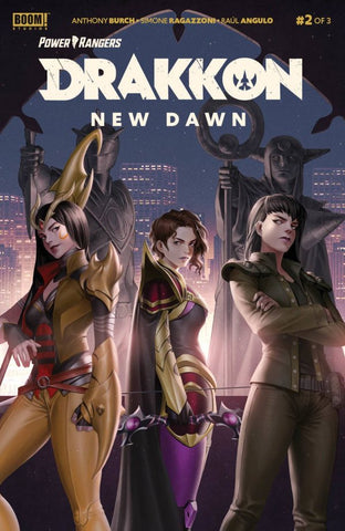 Power Rangers Drakkon New Dawn #2 (Of 3) Main Cover