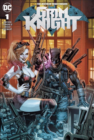 The Batman Who Laughs: Grim Knight #1 Jay Anacleto Exclusive