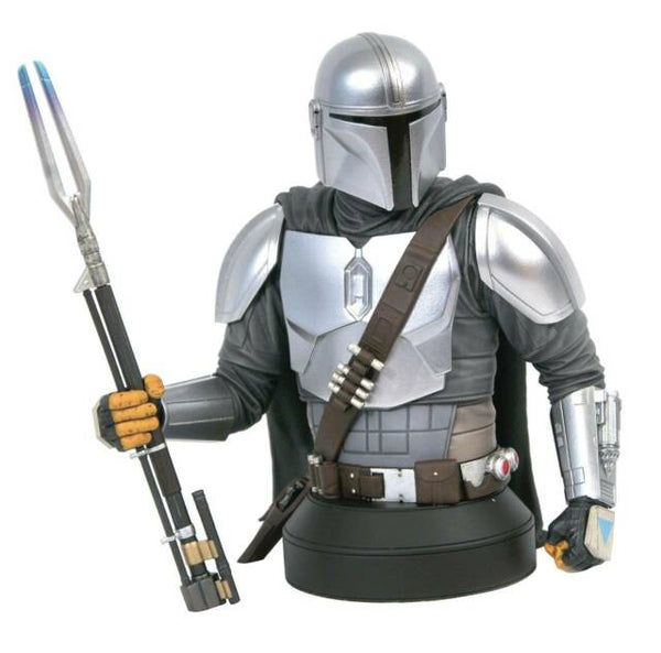 Exclusive SDCC 2020 Star Wars Mandalorian (Beskar Armor) 1:6 Scale Mini-Bust