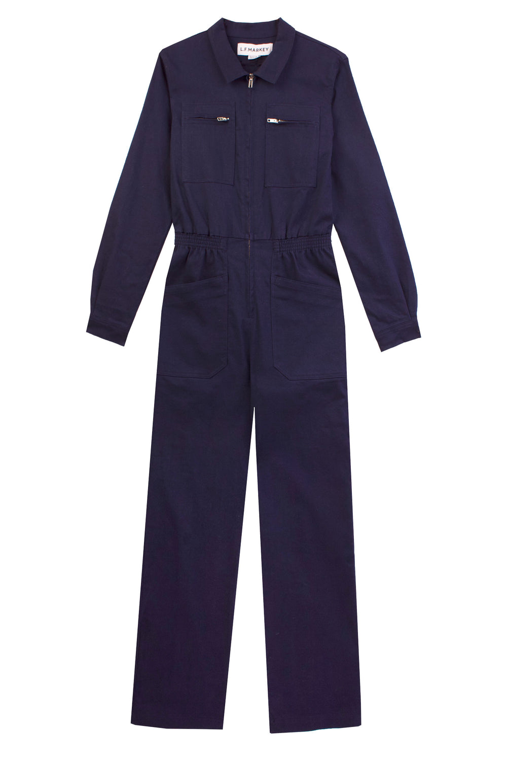 Danny Longsleeve Boilersuit Navy