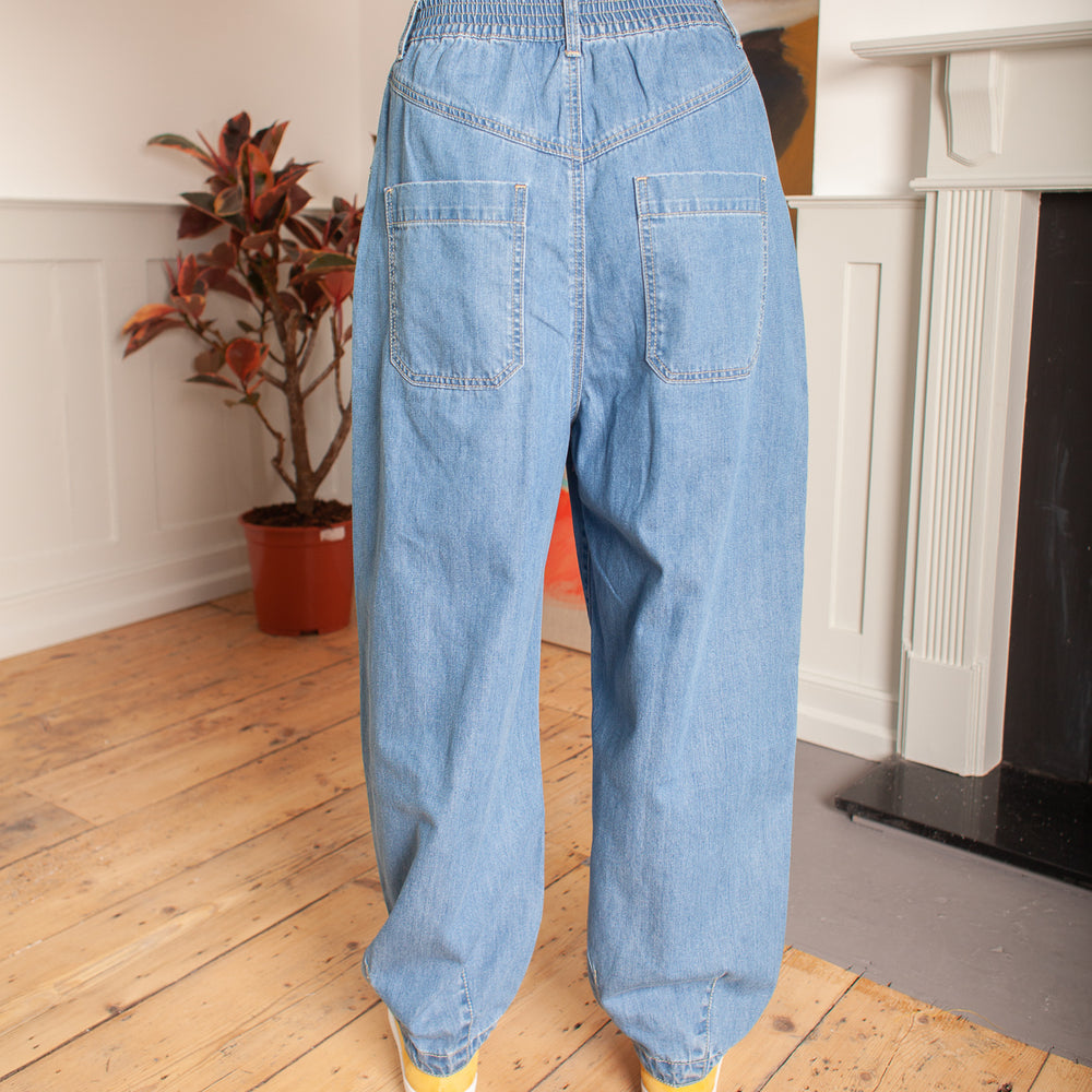 Fat Boys Jeans Mid Blue