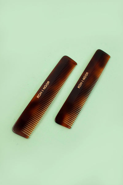 Tortoiseshell Moustache and Beard Comb