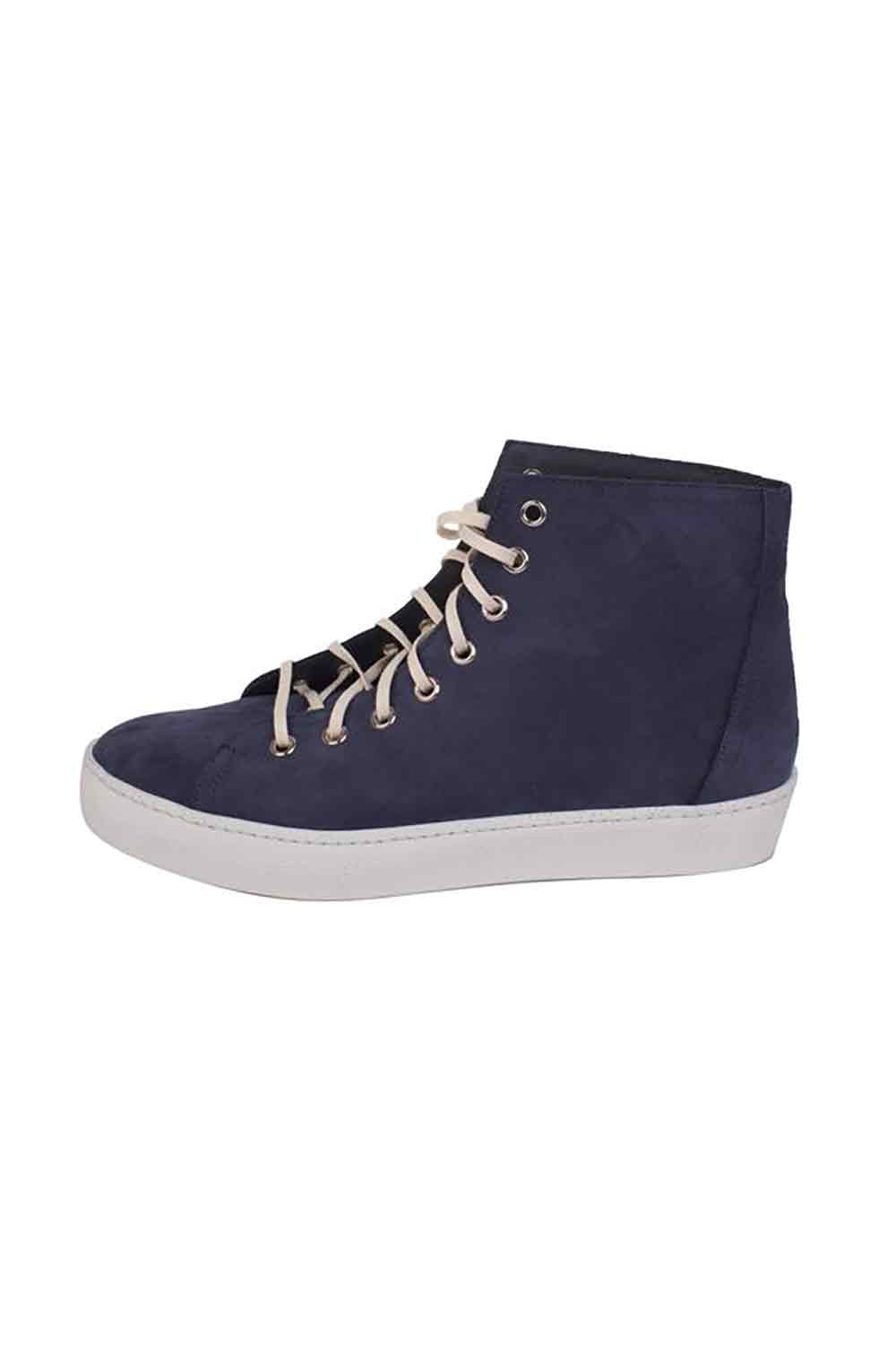 Nubuck High-Tops Navy
