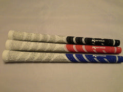 Karma Whiteout dual molded 1/2 cord standard golf grip