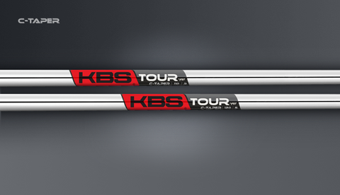 KBS C-Taper .355 taper tip iron shafts