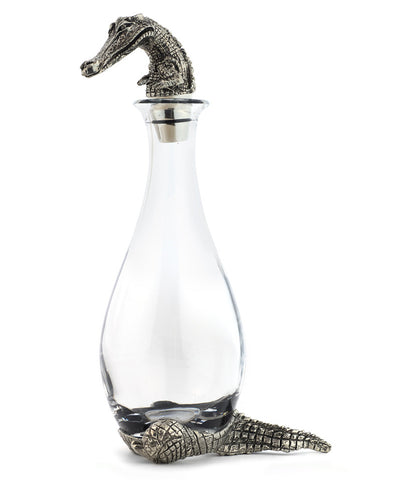 Alligator Decanter