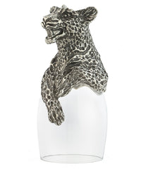 Leopard Port Glass
