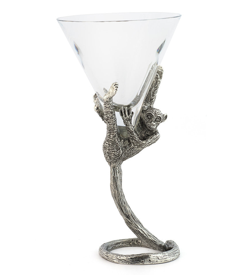 Monkey Martini Glass