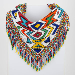 Czech Glass Bead Bandana-Ndebele