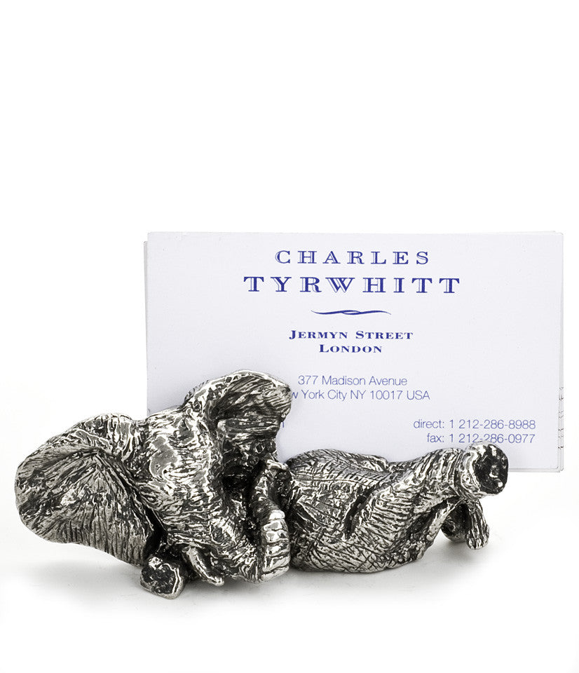 Elephant Business Card Holder