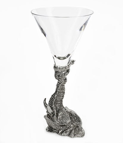 Elephant Martini Glass