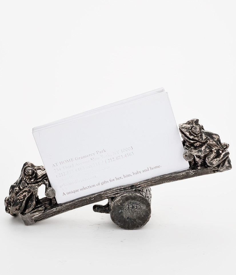 Frog Business Card Holder – Frankli Wild