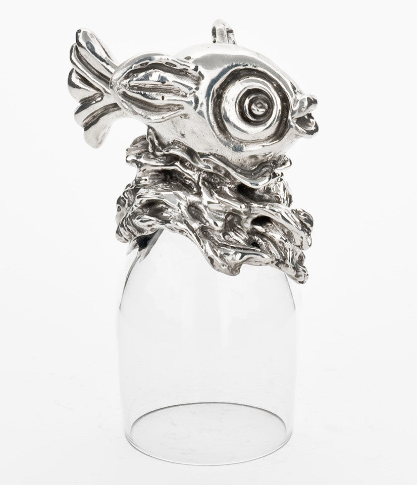 Fun Fish Port Glass