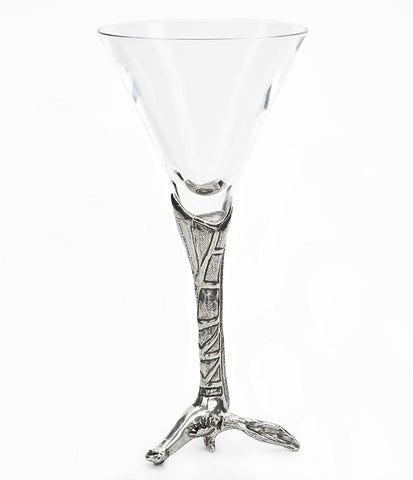 Giraffe Martini Glass