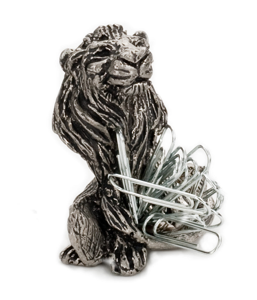 Lion Paperclip Holder