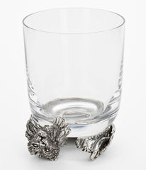 Lion Whiskey Glass