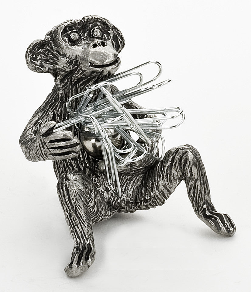 Monkey Paperclip Holder