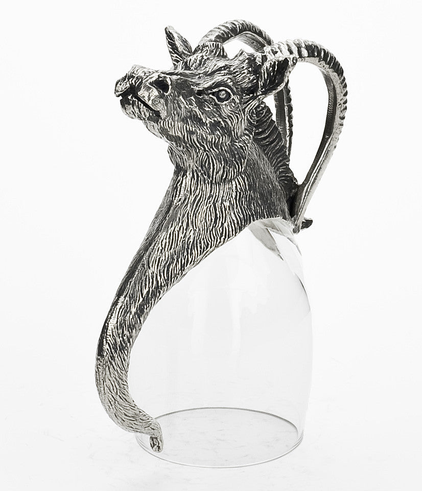 Sable Antelope Port Glass