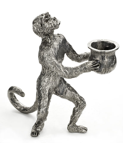 Standing Monkey Candle Holder