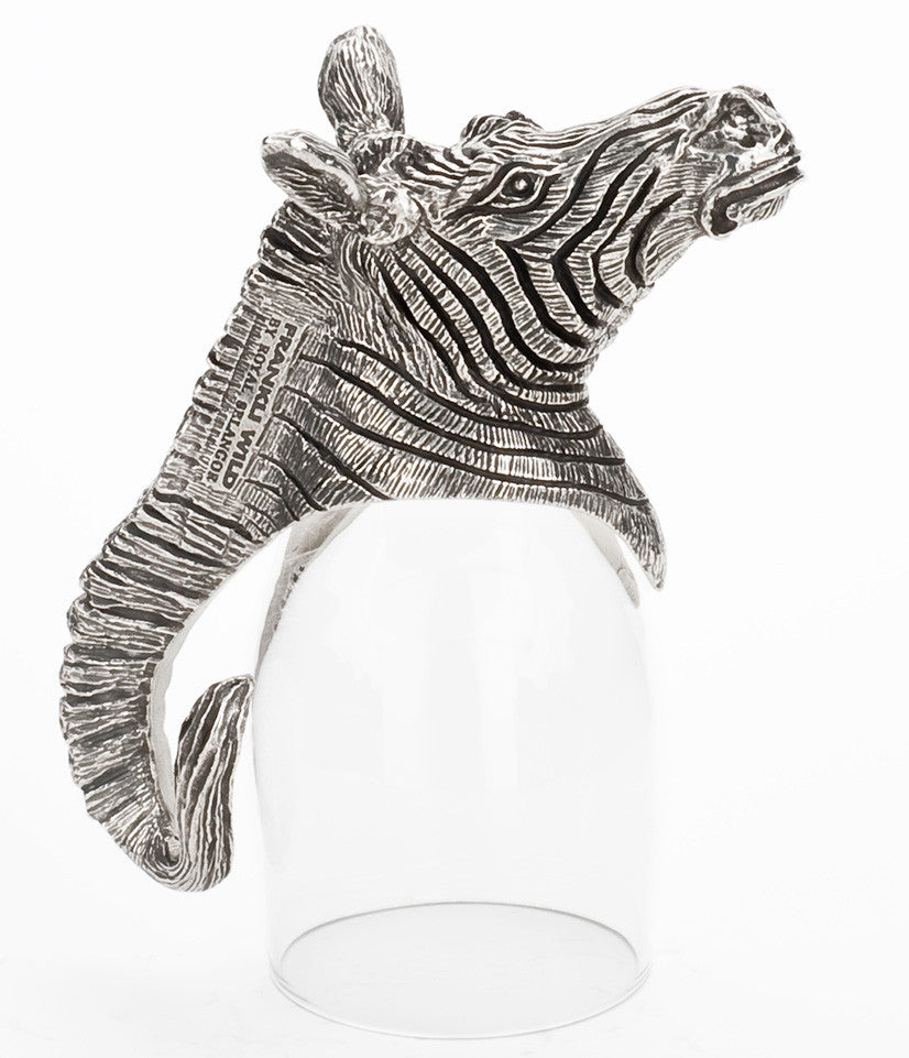 Zebra Port Glass