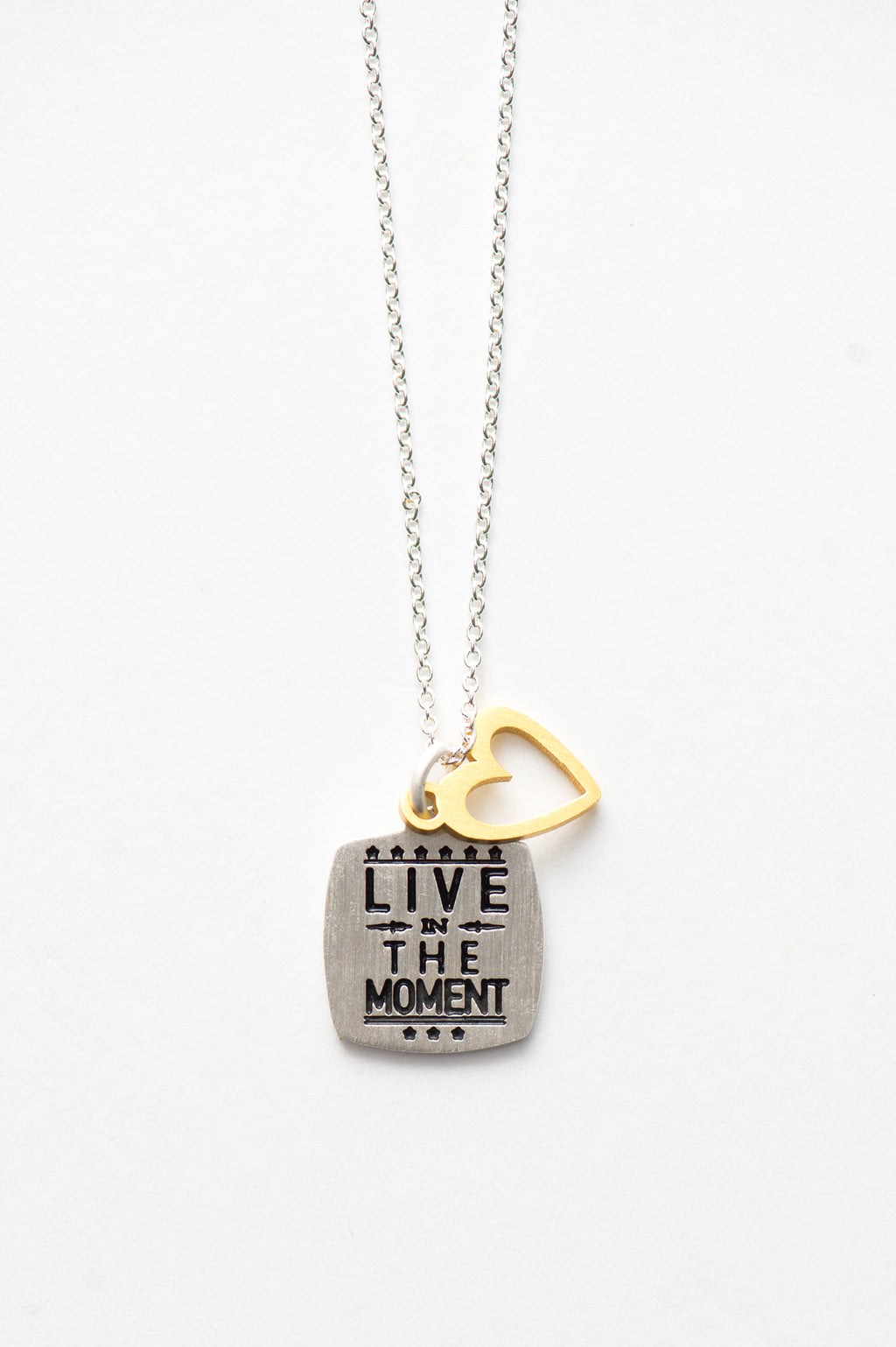 LIVE IN THE MOMENT NECKLACE