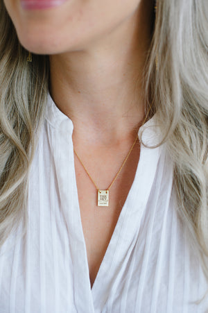 THE SKY IS THE LIMIT NECKLACE