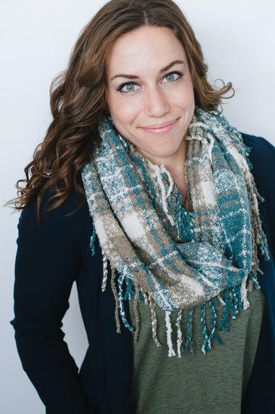 INFINITY TASSEL SCARF - 4 color options-