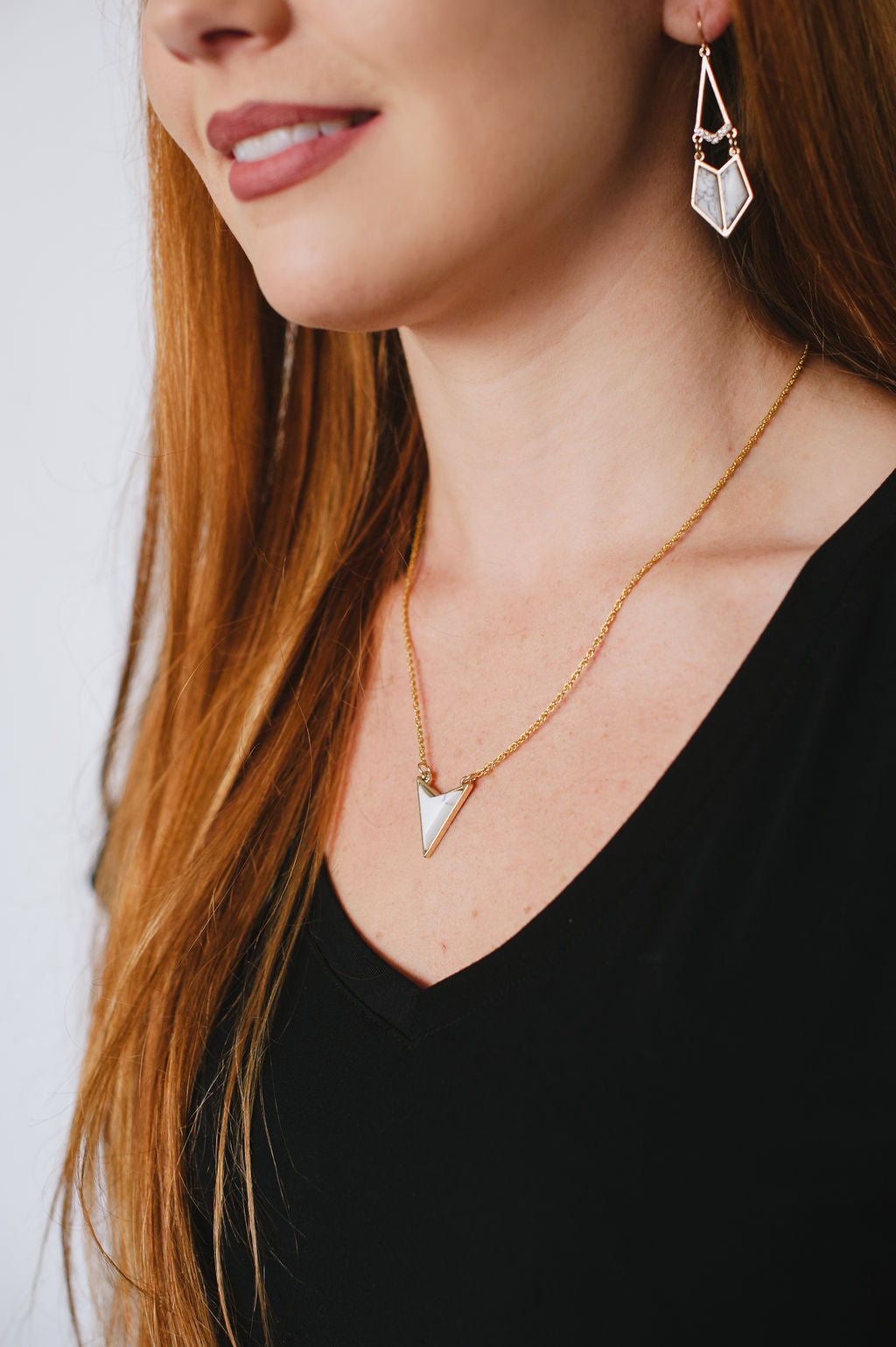 MARBLE VOLT NECKLACE
