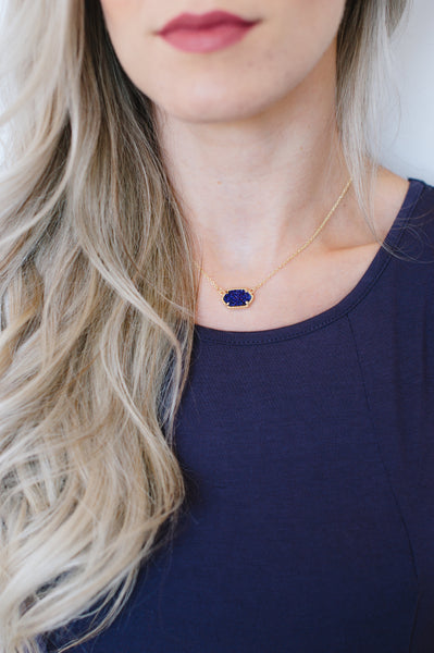 DRUZY HEX NECKLACE