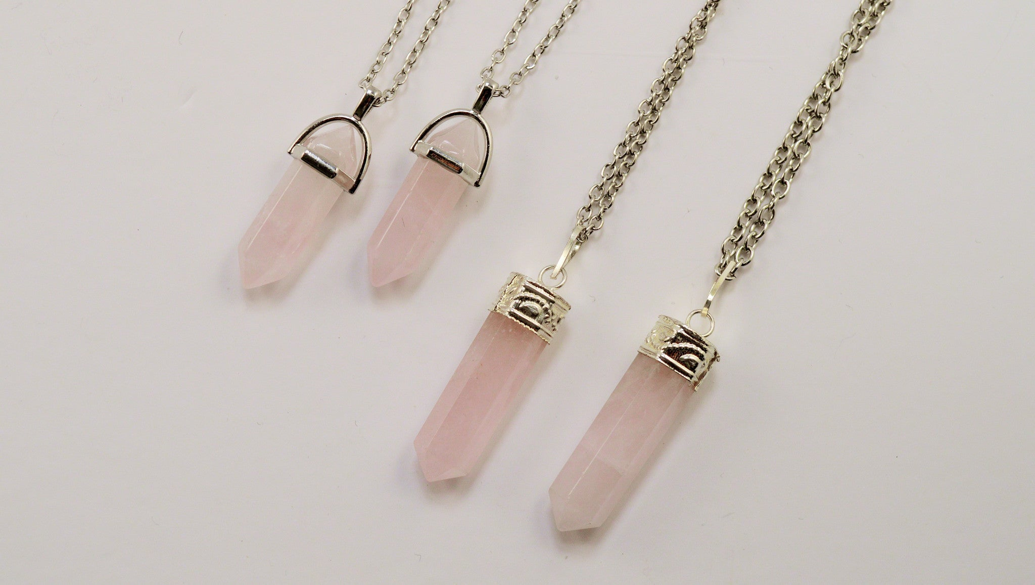 ROSE QUARTZ NECKLACES