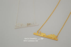 CANADA 150 NECKLACE